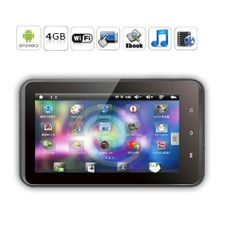 Android 2.3 MID Tablet PC with 7 Inch Capacitive Touchscreen, External 3G, Allwinner A10