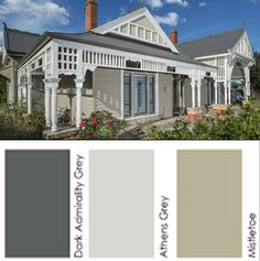 1000 Images About Federation Schemes On Pinterest Colour Schemes Weatherboard House And