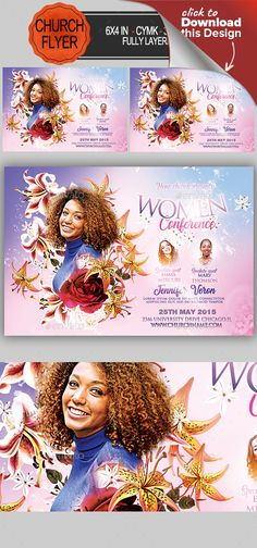 appreciation, bible study, breakfast, breast cancer, brunch, cancer, charity, church, Church Flyer, conference, Conference Flyer, faith, knowing, knowing purpose, leadership, mother, pray, prayer, purpose, seminar, template, women, women of faith, women of player 6×4 with 25. bleed, CMYK, 300 DPI Files included: 1 PSD ,Help File Model not included Fonts Used: Laughing and smiling https://www.dafont.com/laughing-and-smiling.font Trajan https://www.fonts.com/font/adobe/trajan Mv Sans…