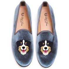 Del Toro Bernese Slipper ($395) ❤ liked on Polyvore featuring shoes and slippers