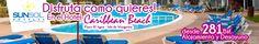 Hotel SunSol Caribbean Beach Duración: 2 días / 1 noches Régimen: Alojamiento y Desayuno  Categoría: Primera  Valido hasta: 15/06/2013  desde 281 VEB por persona