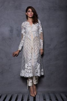 jacket style kurti with cigarette pants Pakistani Outfits, Indian Outfits, Emo Outfits, Indian Attire, Indian Wear, Indian Designer Outfits, Designer Dresses, Ethnic Fashion, Indian Fashion