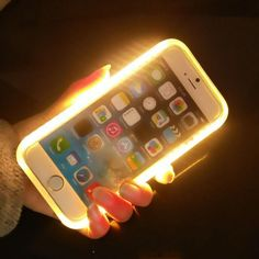 Light Up Selfie Flash Cases illuminated Back Protective Cover  #phone #iphone #trends #spring #charger #adorable #bodychain #diamonds #summerstyle #sexy