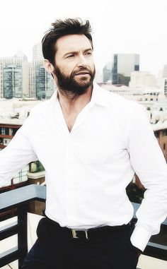 hugh jackman  More like Hugh Hotman, amiright?