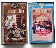 artist julien knez, aka golem13 mocks up VHS cover art for modern movies and TV shows | designboom