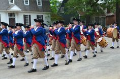 Colonial Williamsburg's Fifes and Drums to perform grand displays of period music. Fife And Drum, Civil War Quilts, Colonial Williamsburg, Drums, Period, Virginia, Music, Beautiful, Musica