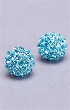 Mini Globe Earrings