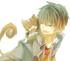 Ao no Exorcist || Rin and Kuro
