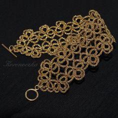 Koroneczka - frywolitki i ceramika: Biżuteria frywolitkowa