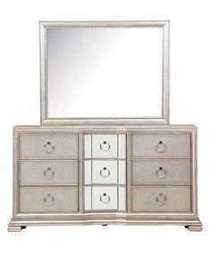 H9RGK Vivian Dresser Mirror