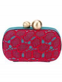 Diane Von Furstenberg 'Sphere Minaudiere Lace' Clutch