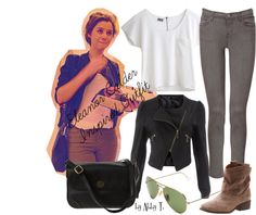 """""""Eleanor Calder Inspired outfit"""" by abbytamase on Polyvore"""