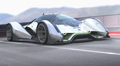 Electric Coupe Concept car