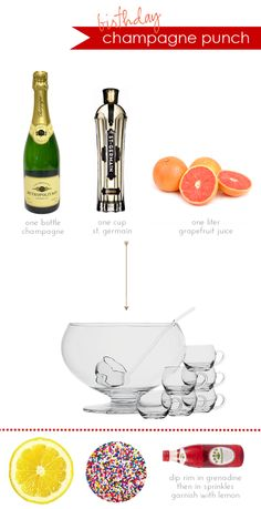 Alexandra Hedin :: Birthday Champagne Punch