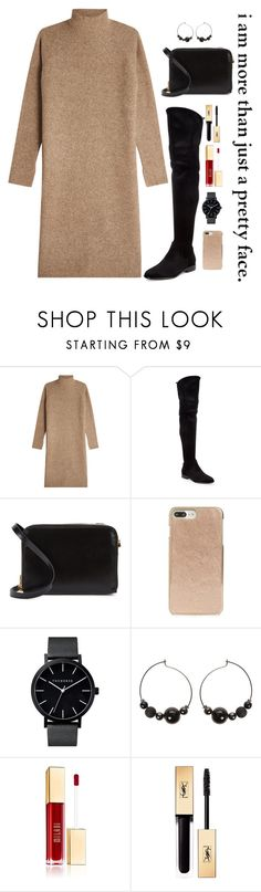 """""""The good life is one inspired by love and guided by knowledge"""" by chase-stars ❤ liked on Polyvore featuring By Malene Birger, Donna Karan, Sophie Hulme, Kate Spade and Yves Saint Laurent"""