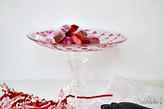 Tutorial:  Valentine's Day Candy Dish