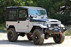 Unique ICON FJ40 New School/BAJA    You can add this to my Christmas wish list.  Would love to take this four wheeling in North Carolina.