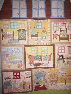 Wonderful Doll House Quilt