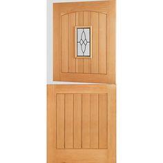 LPD Doors Cottage Wood 1 Panel Glazed External Door  sc 1 st  Pinterest & LPD Doors Cottage Wood 4 Panel Glazed External Door \u0026 Reviews ...
