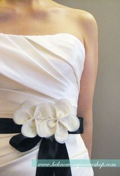 love this belt and the top of the dress