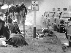 "'BLOODY SUNDAY' | March on Selma, Selma, Alabama,1965.  State troopers and sheriff's deputies tear gassed demonstrators on March 7, 1965, during the Selma to Montgomery March. The day would later would be named ""Bloody Sunday."""
