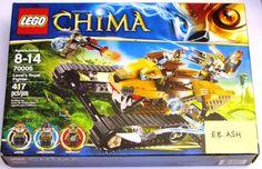 LEGO Chima 70005 Laval's Royal Fighter Set NIB legends #LEGO