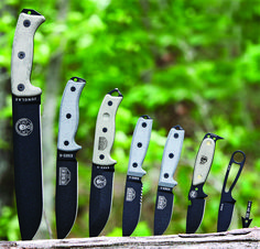 Esee Knives - Since 1997 Randall's Adventure & Training has designed no-nonsense, affordable field knives specifically targeted to military, law enforcement, and the special operations community. Many of their knives now serve in the combat zones of Iraq, Afghanistan and other remote locales.