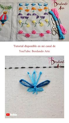 Hand Embroidery Patterns Flowers, Embroidery Stitches Tutorial, Hand Embroidery Art, Sewing Stitches, Beaded Embroidery, Hand Embroidery Stitches, Embroidery Stitches, String Art, Hand Embroidery Flowers