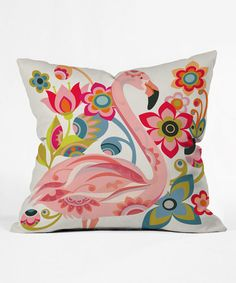 $27.99 - $29.99   This Domingo Throw Pillow by DENY Designs is perfect! #zulilyfinds