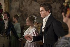 Cosette (Amanda Seyfried) and Marius (Eddie Redmayne), Les Miserables movie