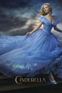 """Cinderella released March Directed by Kenneth Branagh. Screenplay by Chris Weitz. Starring Lily James (Cinderella), Cate Blanchett (Lady Tremaine/Cinderella's Stepmother), Richard Madden (Prince """"Kit""""), and Helena Bonham Carter (Fairy Godmother). Cinderella 2015, Cinderella Dresses, Download Cinderella, Cinderella Original, Cinderella Princess, Cinderella Live Action, Cinderella Costume"""