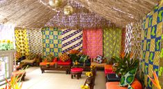Over the years, I've come across many amazing architectural and home deco images that are none other than mind blowing. African Interior Design, African Design, Office Interior Design, Interior Decorating, African Textiles, African Fabric, African Prints, Feng Shui, African Theme