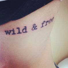 My new tattoo, on my ribs, done by Erin at Body Cult in Amsterdam.  This is a constant reminder of two things:The person i became while backpacking alone through Europe for two months, as well as the way I always want to live my life. I always want have some freedom in with the every day grind, and this is a constant reminder to cherish that.For the love of travel, freedom, and always having a wild side.