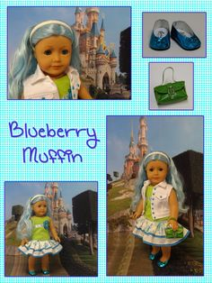 Blueberry Muffin custom American Girl style by cupcakecutiepie, $315.00
