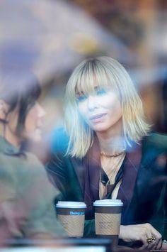 On Set - New York - October 2016 - - Cate Blanchett Fan Cate Blanchett Carol, New Hair, Your Hair, Ocean's Eight, Dull Hair, Great Hair, Amazing Hair, Hair Today, Crazy Hair