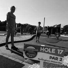 Topped the day off with some adventure golf @mynottingham  following #wondernotts
