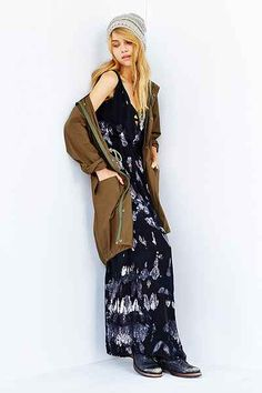 Blue Life High Tide Maxi Dress - Urban Outfitters