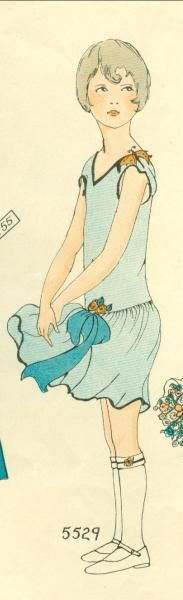Child Life Magazine Paper Doll Your Dress & Dolly's Jan 1927 Jean -CHIQUET | eBay
