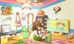 Most Realistic Pokemon Fan Art Pokemon Gif, Pokemon Hilda, Pokemon Room, Pokemon Images, Pokemon Fan Art, Cute Pokemon, Pokemon Stuff, Manga, Black Pokemon