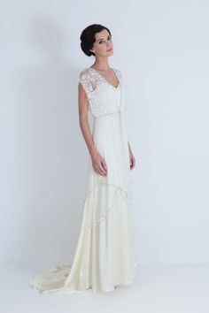 hmmm? Vintage inspired dress by Catherine Deane wedding-stuff