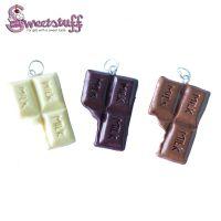 3 chocolade reep bedels