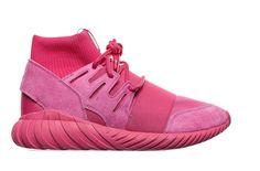 "The adidas Tubular Doom Goes Wild in ""Triple Pink"". Blazing the brand forward"
