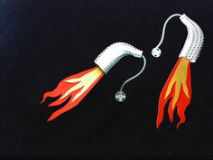 Rockets-Love these - consider all the ways that you could dress-up a hearing aid!