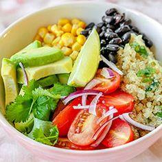 Meksykańska sałatka z quinoa