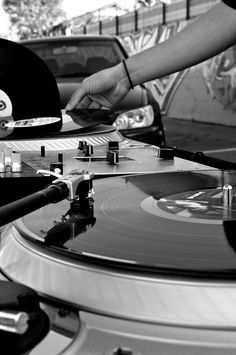 record players - photography of music