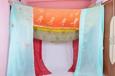 SAME WITH THIS... It's like she got into my head and pulled this canopy out; there's no way I could make them this beautiful myself (without spending a fortune and tons of time).... Gypsy Wedding Upcycled Textiles Multiple color by IndianHippy