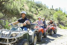 Interested in finding a fun way to get your employees to bond? Treat them to an outdoor excursion with one of our group ATV tours!