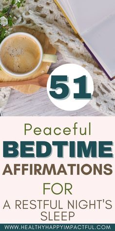 51 peaceful bedtime affirmations for your best night's sleep. Night affirmations filled with positivity and gratitude so you can fall asleep faster - and stay asleep. Sweet dreams! #bedtimeaffirmationsforwomen #nighttimeaffirmations How To Get Better, Better Life, Affirmations For Women, Positive Affirmations, What Helps You Sleep, Night Routine, Morning Routines, Caring For Mums, Thing 1