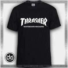 a66bd9790 Buy Tshirt Thrasher Skateboard Magazine Logo Tshirt mens Tshirt womens  //Price: $12 Gift