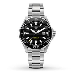 Previously Owned TAG Heuer Men s Watch Aquaracer Calibre 5 Tag Heuer  Aquaracer Automatic 9a84730553